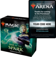 Arena War of the Spark Prerelease Code