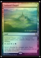 Isolated Chapel Foil Dated Promo