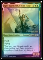 Raff Capashen, Ship's Mage Foil Dated Promo