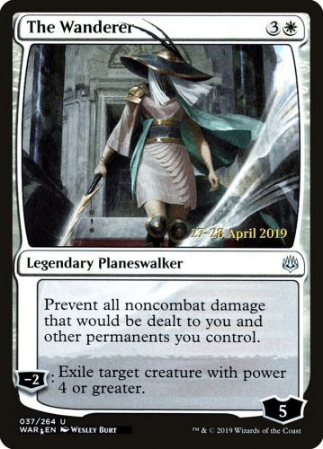The Wanderer Foil Dated Promo