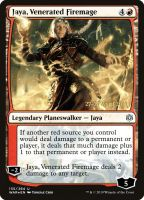 Jaya, Venerated Firemage Foil Dated Promo