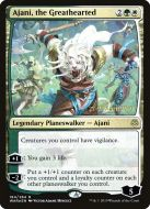 Ajani, the Greathearted Foil Dated Promo