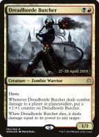 Dreadhorde Butcher Foil Dated Promo